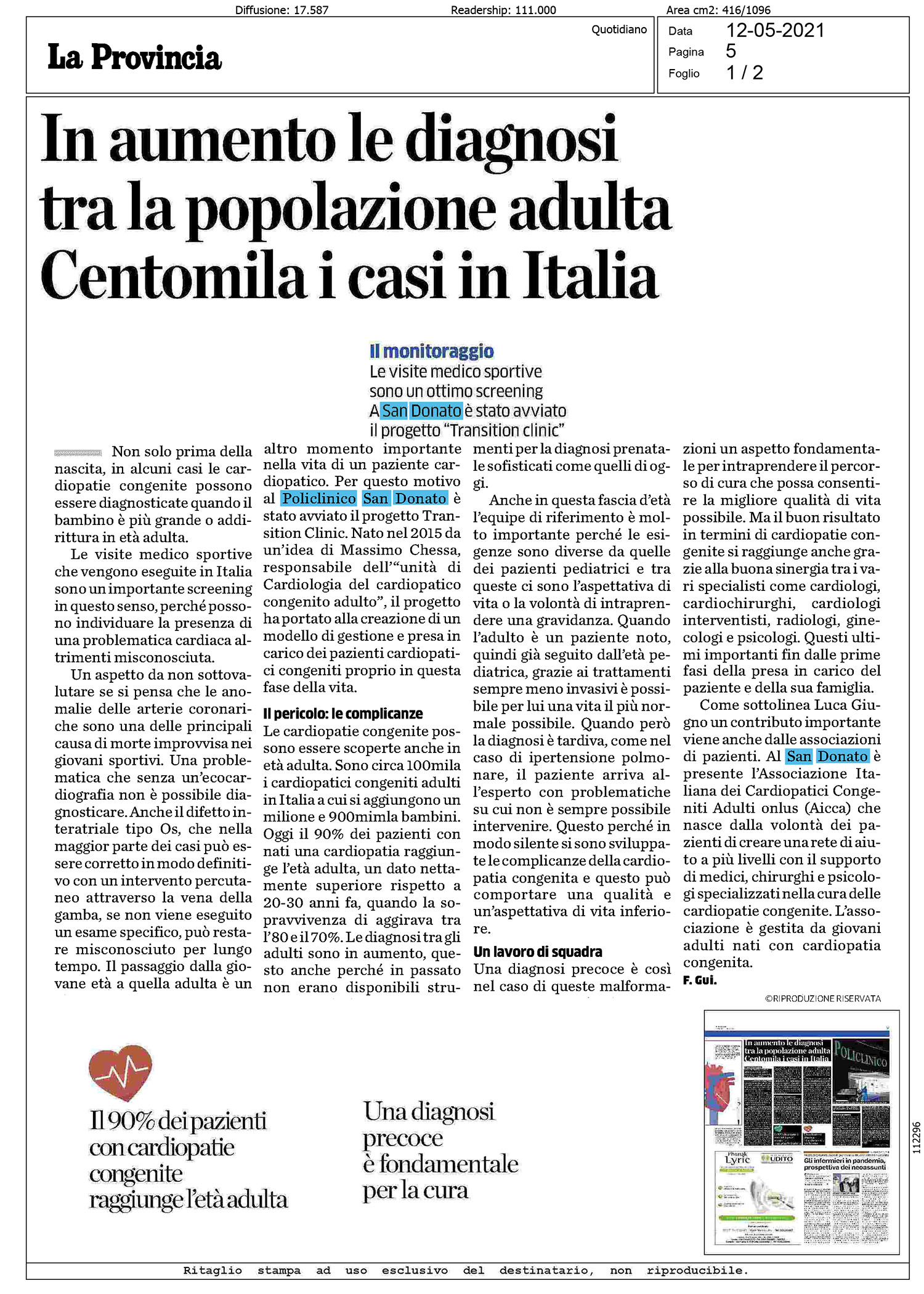 Diagnosi San Donato